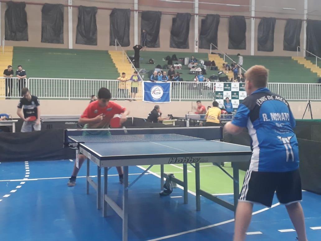 Criciúma conquista nove medalhas no tênis de mesa em Pouso Redondo